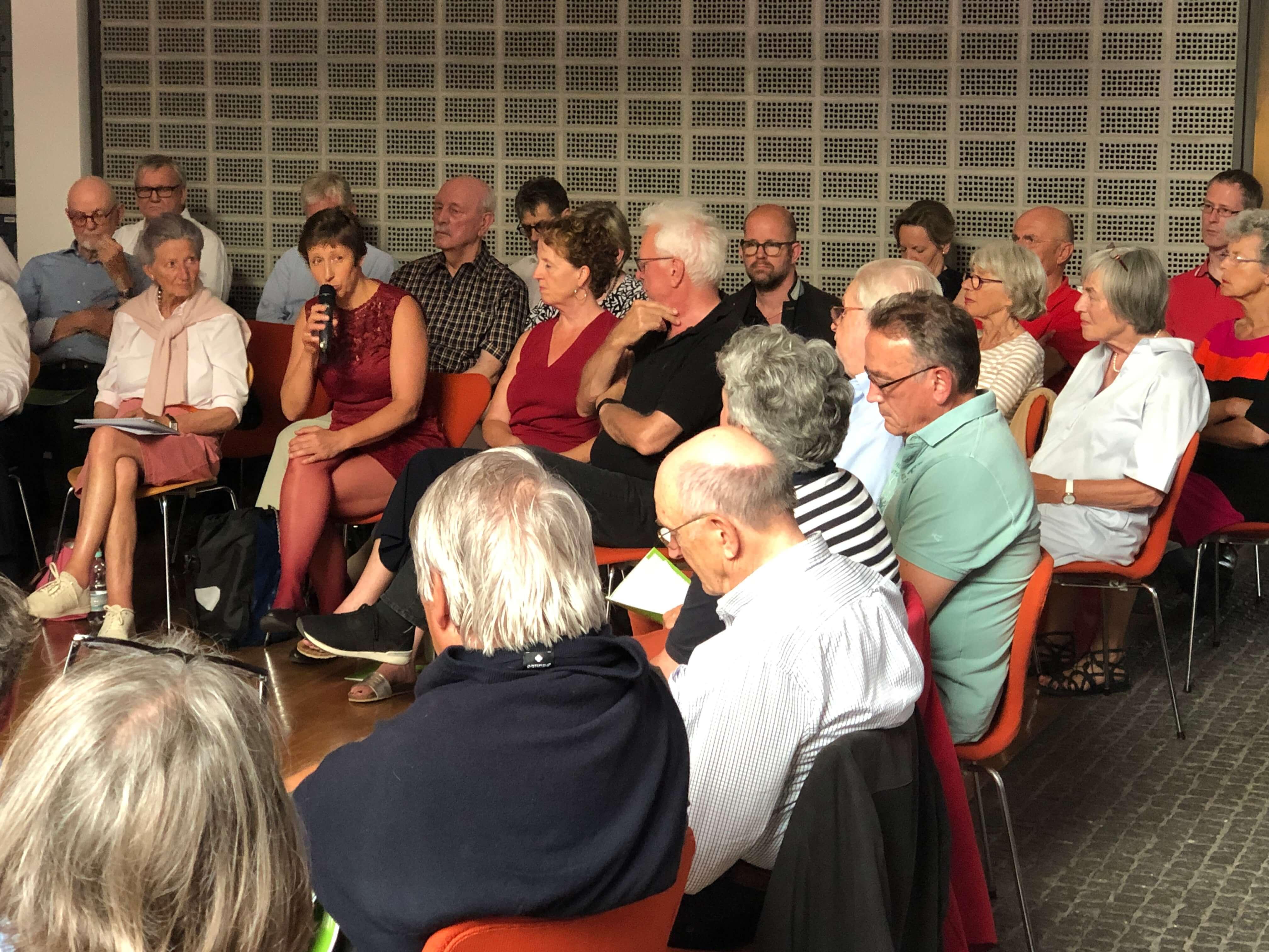 Viele Multiplikatoren Münsters beteiligten sich an der Diskussion